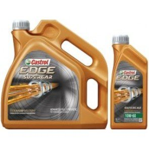 Castrol Edge 10W60 supercar