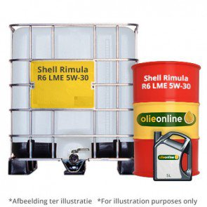Shell Rimula R6 LME Plus 5W-30